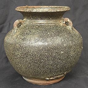 Black Glaze jar,13th century