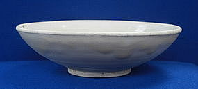 Song Dynasty White Glaze Bowl