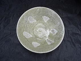 Tang Dynasty Green Glaze Bowl