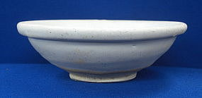 Song-five dynasty Ding ware bowl with lipped rim