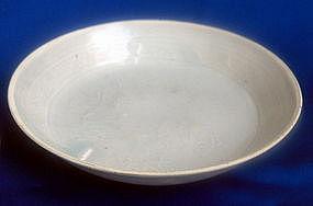 Yuan Dynasty Shufu Bowl with  Fish motive