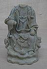 Rare Example of Yuan dyn qingbai figure of Guanyin