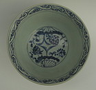 Sample of Yuan dynasty blue and white bowl