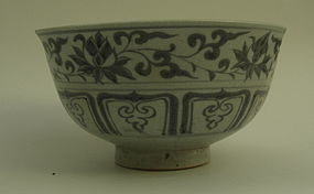 A Sample of Yuan dynasty blue and white bowl (2)
