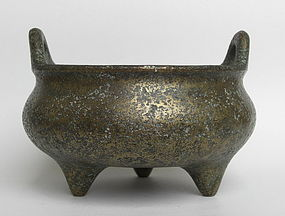 Chinese Bronze Censer with Xuande mark,18-19th century