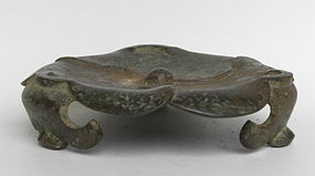 A Chinese Bronze Stand Censer (5)