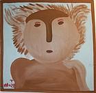 Folk Art Painting- Koala Person- Mose Tolliver