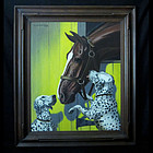 Walter Wilwerding/ Horse and Dalmations
