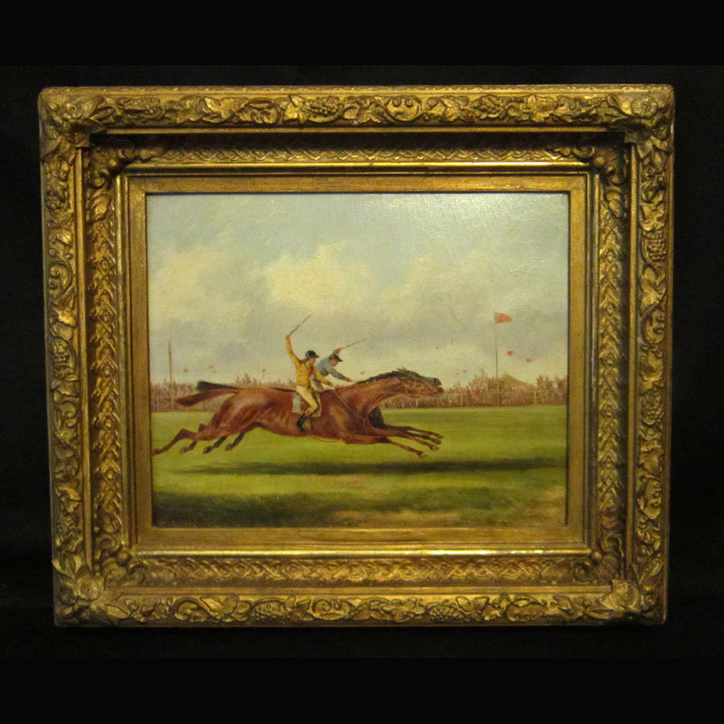 E.A. Willis/ Horse Hunting Scene