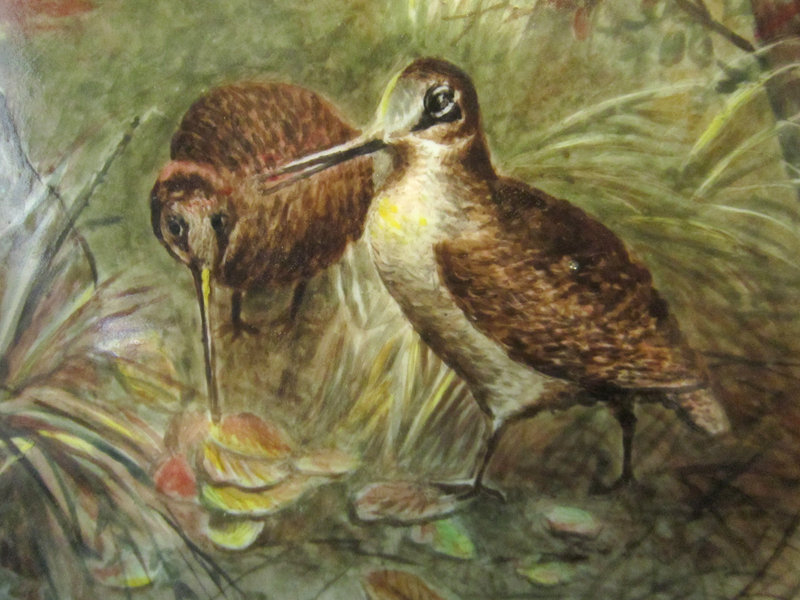 M.C. Haywood Porcelain Painting, Sandpipers