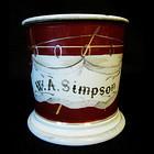 Occupational Shaving Mug, W.A. Simpson