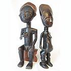 Hand Carved Fertility Dolls, Ashanti