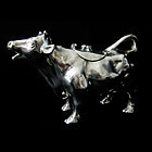 Sterling Silver Cow Creamer