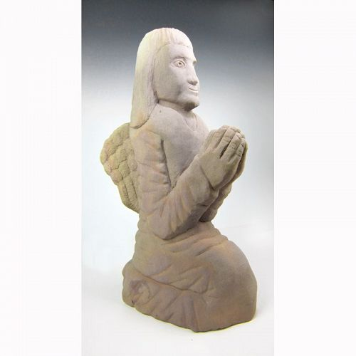 Small Angel Sculpture by Tim Lewis