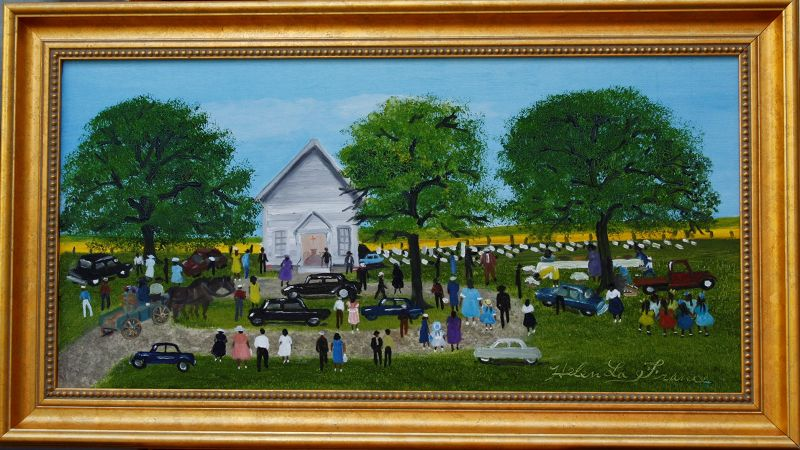 Church Picnic by Helen LaFrance