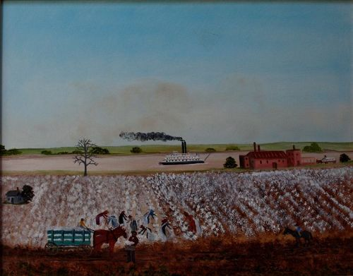Cotton Fields by Helen LaFrance