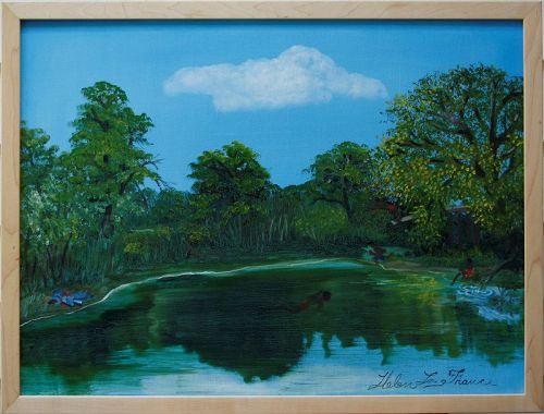 Swimming Hole by Helen LaFrance