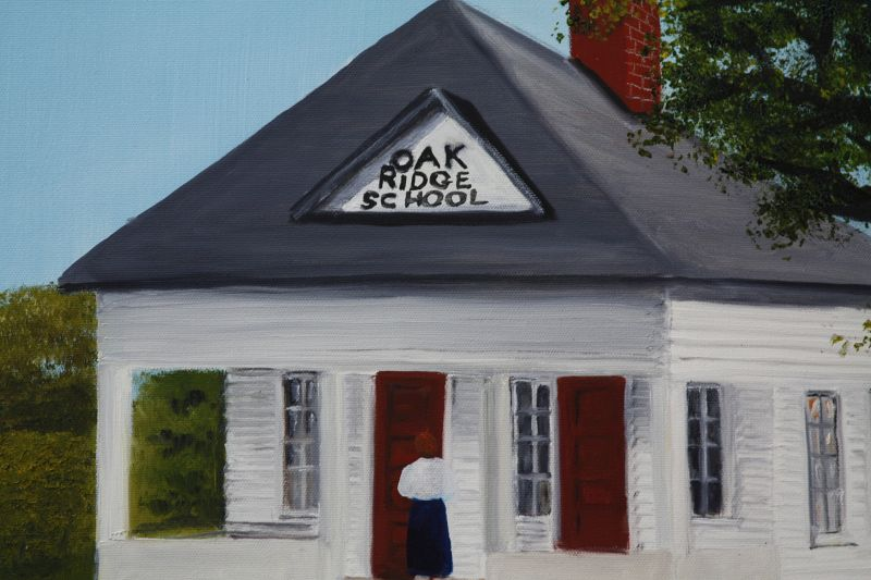 Oak Ridge School by Helen LaFrane