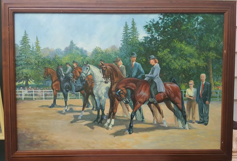 Dressage by Jeane Newton