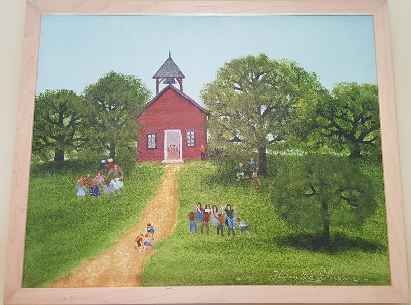 School House by Helen LaFrance
