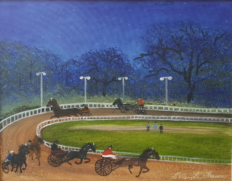 County Fair at Night by Helen LaFrance
