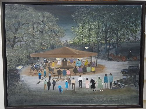 Tent Revival by Helen LaFrance