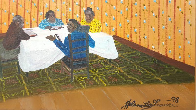 Bible Study by Helen LaFrance