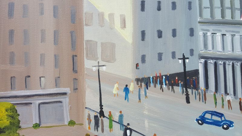 Downtown by Helen LaFrance