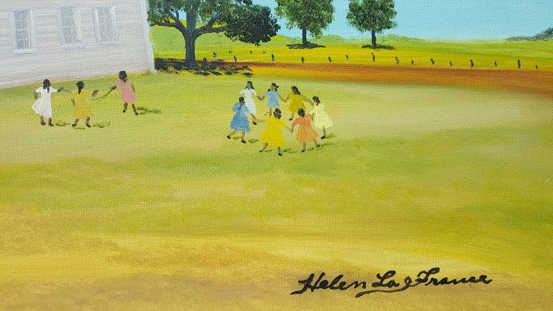 Baseball by Helen LaFrance
