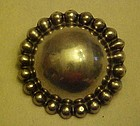 Vintage Taxco 980 silver pin by Artemio Navarette