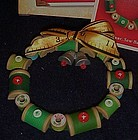 Hallmark Sew merry Sew bright wreath ornament MIB