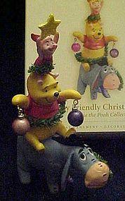 Hallmark Disney ornament A very friendly Christmas Tree