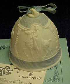 Lladro 1990 We Three Kings Christmas bell #5690