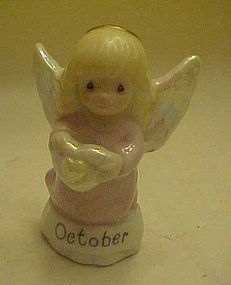 Precious Moments Birthstone Birthday October Angel