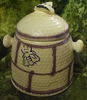 Vintage House of Webster bee hive cookie or treat jar