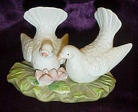 Lefton nest egg collection love doves birds 06134