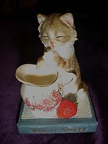 Country Artists cat figurine Your sweet  #03147