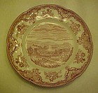 Johnson Bros.  castles transferware salad plate 8""