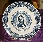 Abraham Lincoln Sesquintennial plate 1809-1959