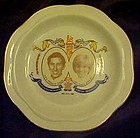 Prince Charles lady Diana plate commemorating marriage
