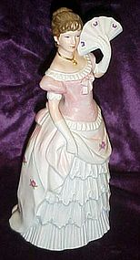 Homeco Victorian ladies figurine Shall we dance 1421