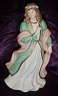 Home Interiors renieassance maiden figurine 1486