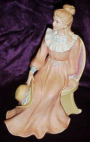 Home Interiors Courtney Dreams Victorian lady figurine