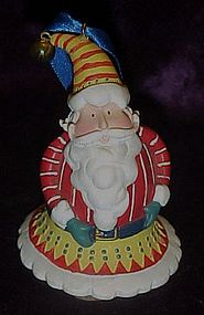 Santa bell ornament, Very cute!!