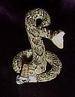 Miniature rattlesnake figurine