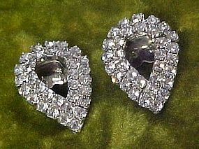 Lovely  all rhinestone shoe clips