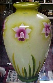 Beautiful EPC Empire Works Stoke on Trent orchids vase