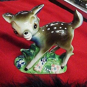 Vintage Japan fawn deer figurine