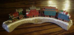 Hallmark Claus & Company RR keepsake ornament set