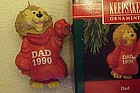 Hallmark Keepsake ornament Lion Dad 1990